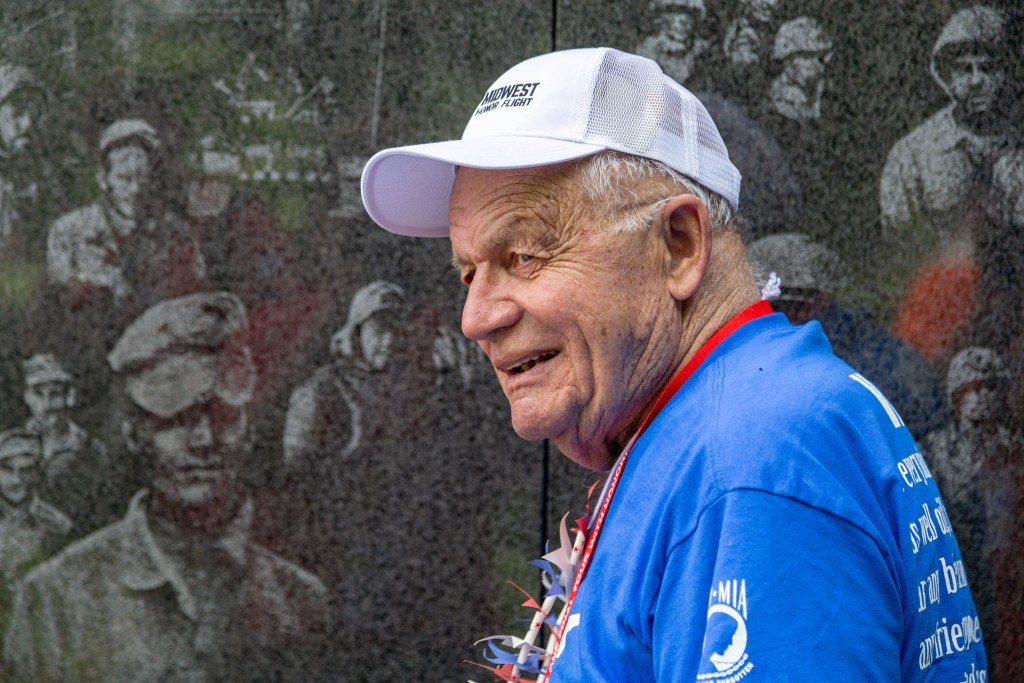Midwest Honor Flight, Courtesy Facebook