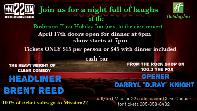 Mission22 Comedy Night