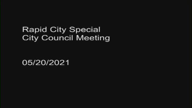 Rapid City Council Special Session Regarding Home Rule (fbvid)