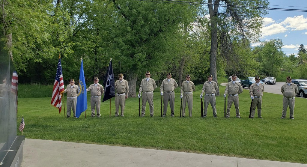 Spearfish Honor Guard Picture