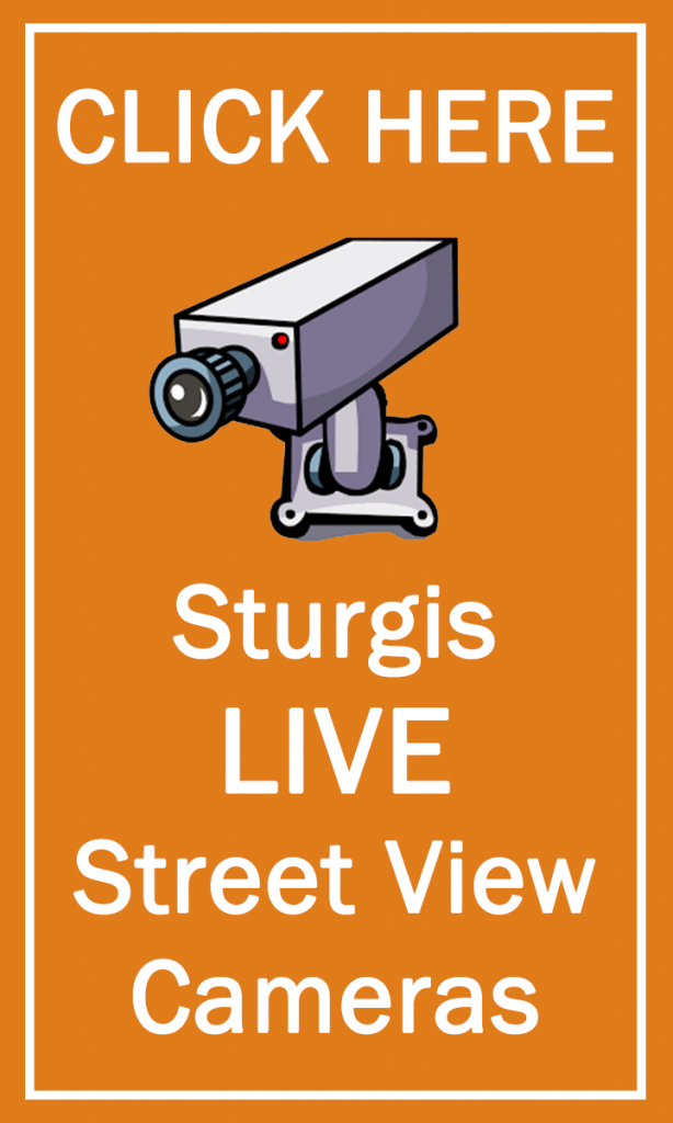 Sturgis Live Cams Tall Banner Flat