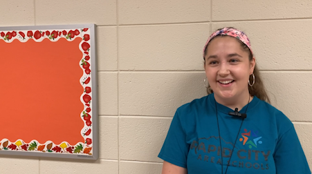 Callie Klopfenstein awarded with classroom funds