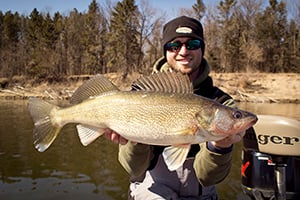 Walleye outdoornews for Mille lacs lake fishing regulations