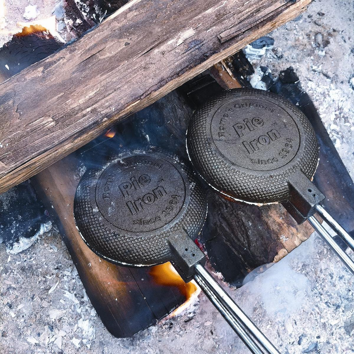 pie iron campfire wild turkey bbq sandwich outdoornews
