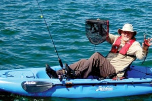 Essential gear for a day of multi species fishing via for Fishing kayak with livewell