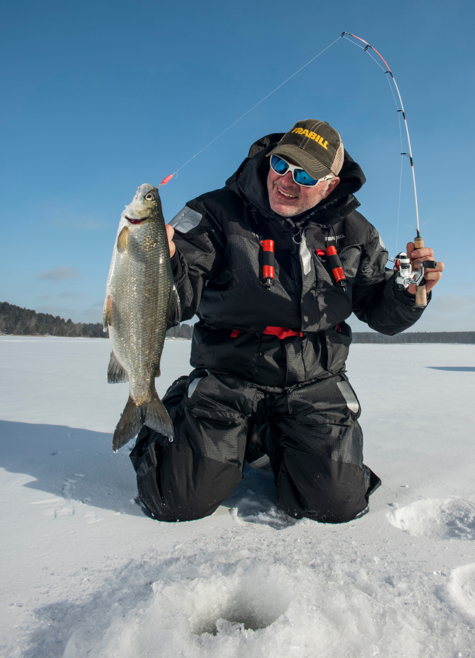 Top ice fishing pros tapped for new species- and technique-specific