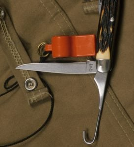 Game bird field dressing tools
