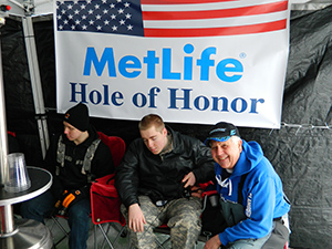 Local veterans to be honored at holes for heroes ice for Ice fishing tournaments mn 2017