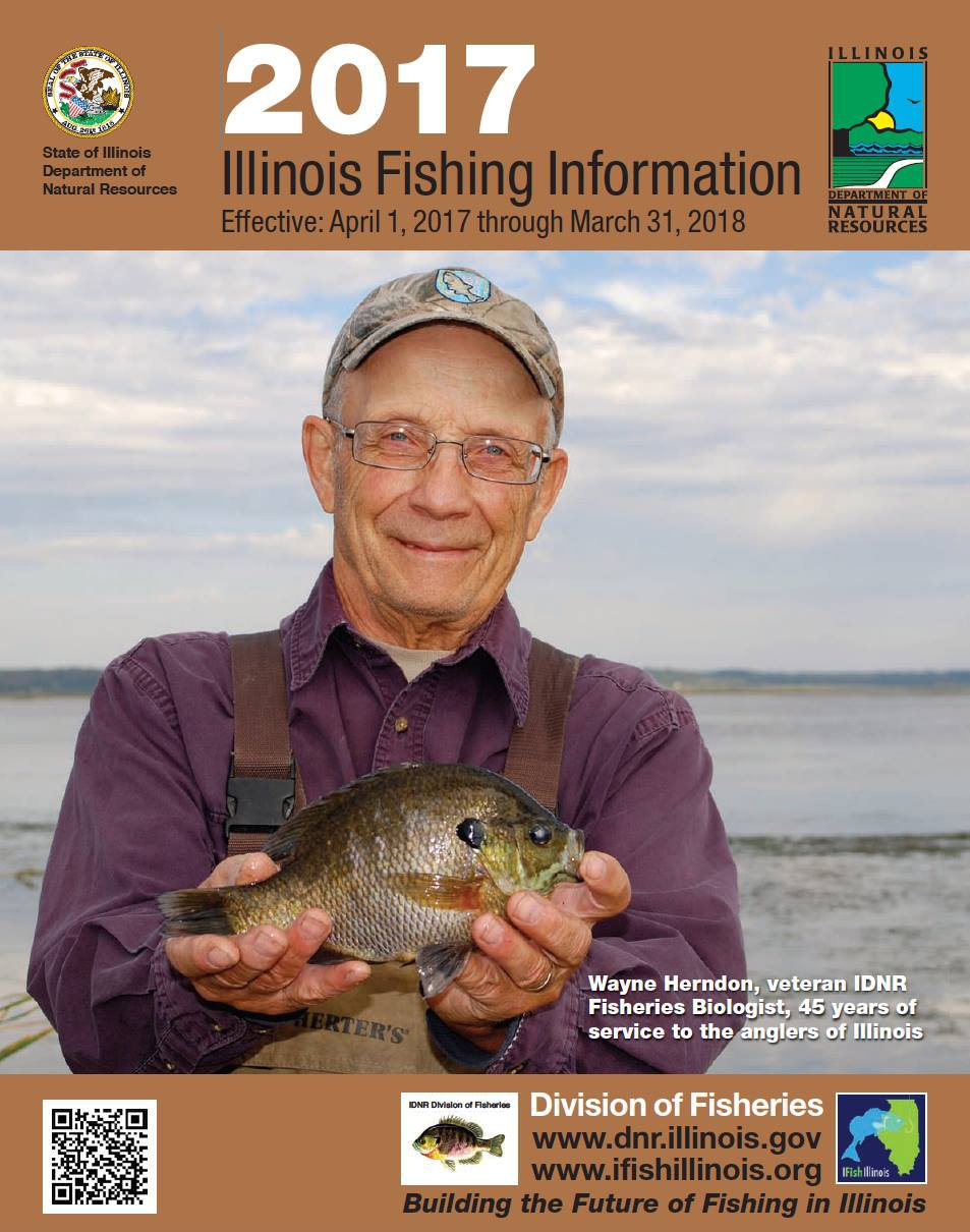 The new fishing regulations guides are here the new for Illinois fishing regulations 2017