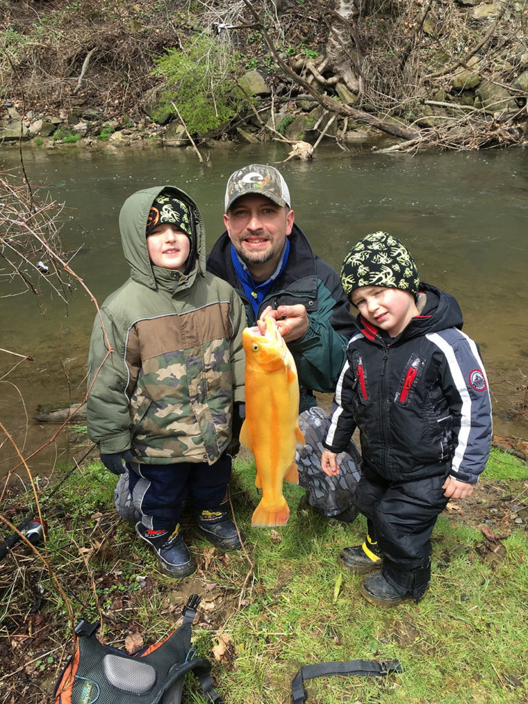 Mentored events to kick off 2017 pennsylvania fishing for Fishing in pennsylvania