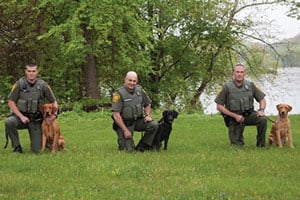 Pennsylvania Game Commission's just graduated K-9s should be