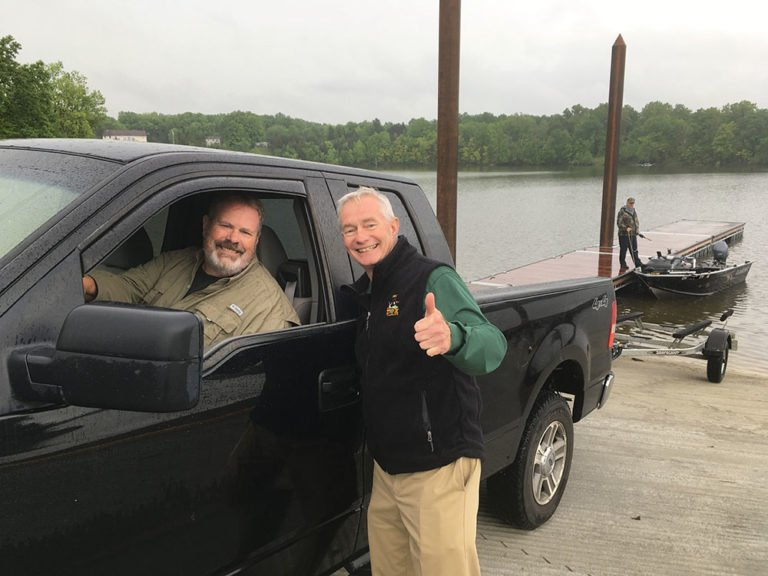 New boat ramp unveiled at berlin lake outdoornews for Ohio fishing report 2017