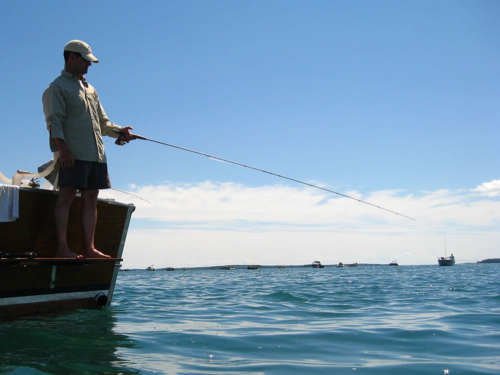Fisheries staffs to study st mary s river fish community for Outdoor news mn fishing report