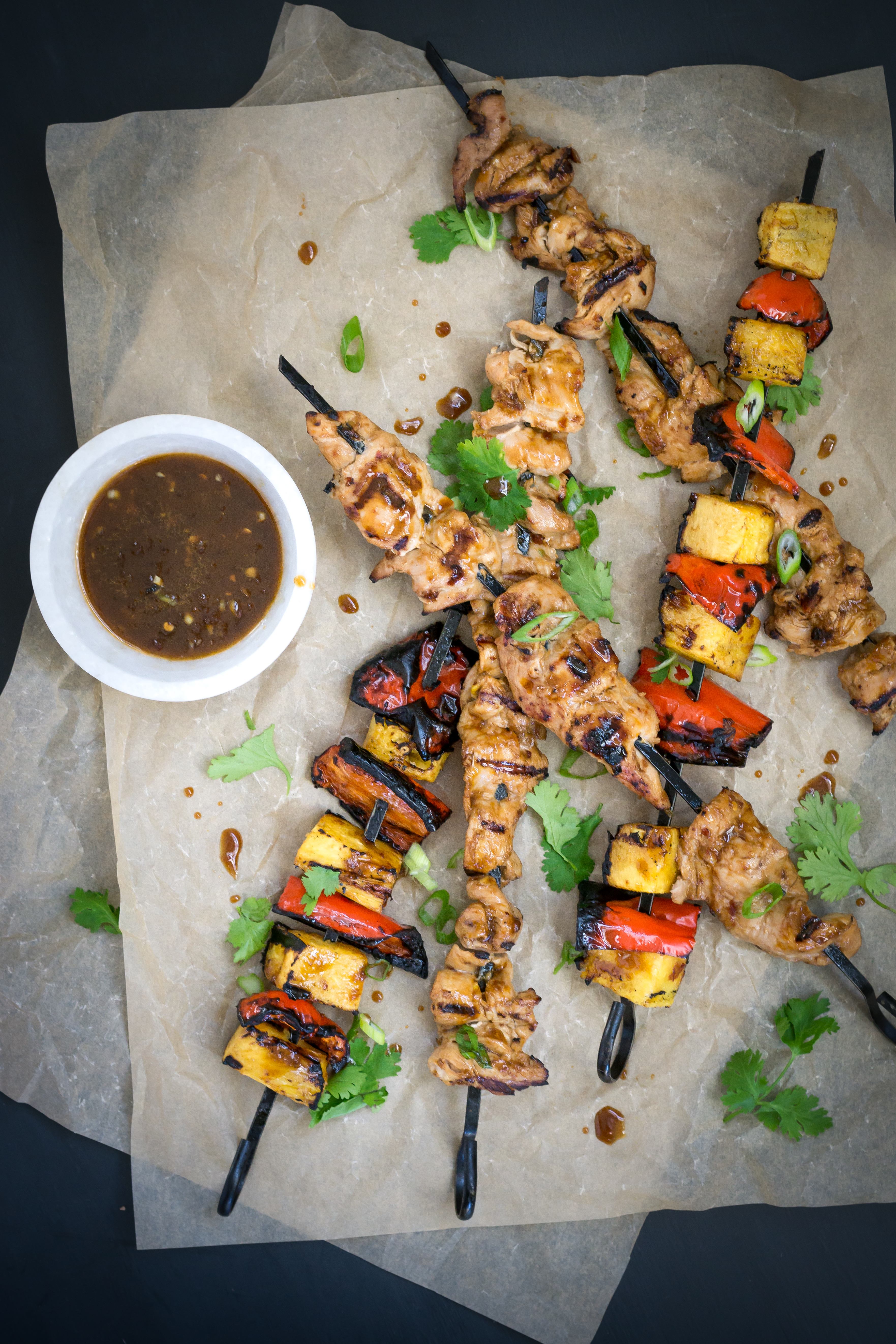 Grilled Asian Pheasant Pineapple Kabobs Outdoornews