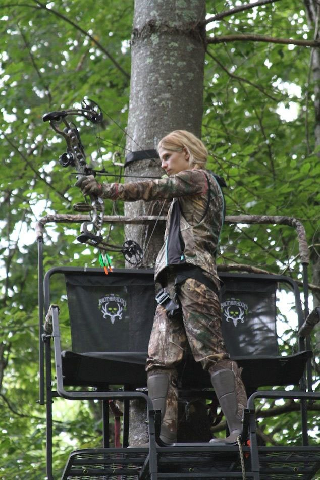 Archery Deer Hunting Pointer Practice Shooting From Tree Stand Rather Than From Ground Level Outdoornews One of the first things he learned was that arrows are a consumable resource, and if you shoot them, you're. archery deer hunting pointer practice