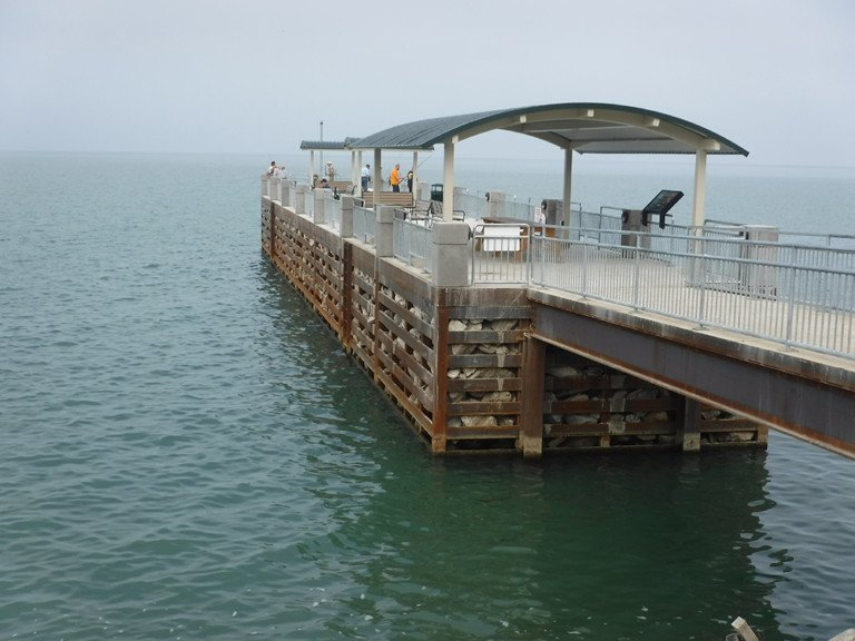 Lake metroparks again keeps anglers in mind at the for Lake erie pier fishing