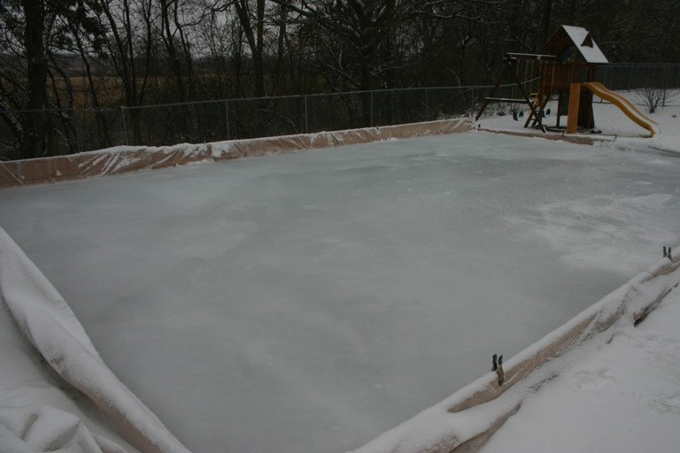 Even On A Small Backyard Ice Rink, The Quality And Thickness Of The Ice  Isnu0027t Uniform. Itu0027s A Good Reminder That Lake Ice Is Much The Same, ...