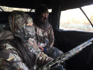 A beautiful spring day for youth turkey hunt – and to be