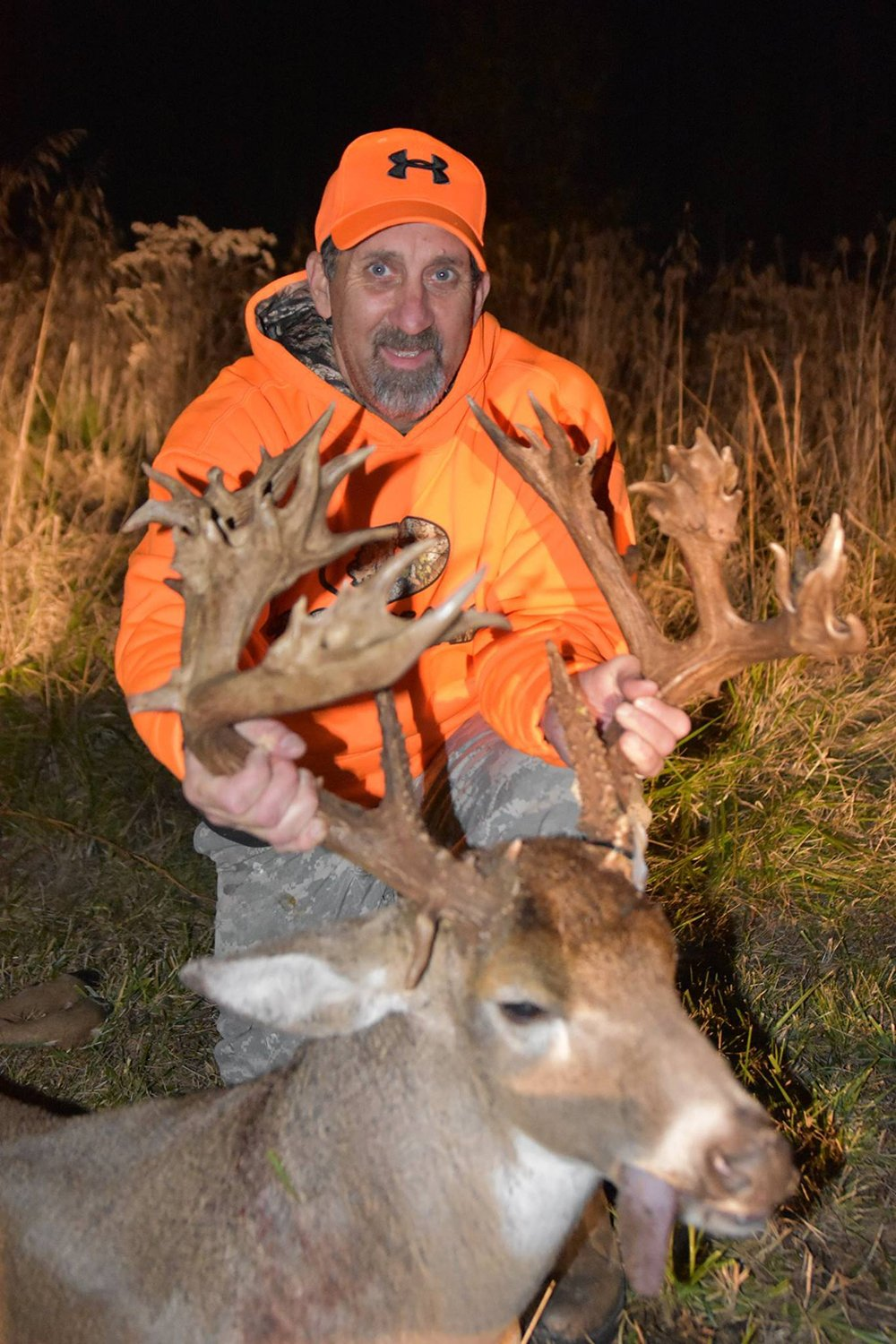 A Relatively New Deer Hunter Came Up Big In Southern Illinois During The First Weekend Of The Firearms Deer Season