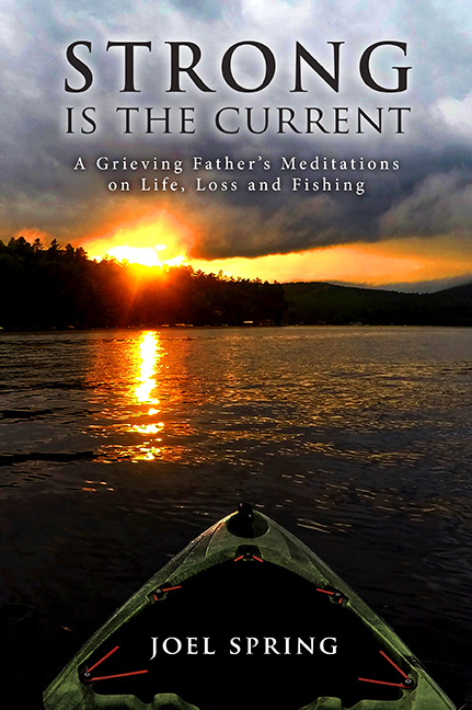 The book on fishing and the outdoors for grief relief