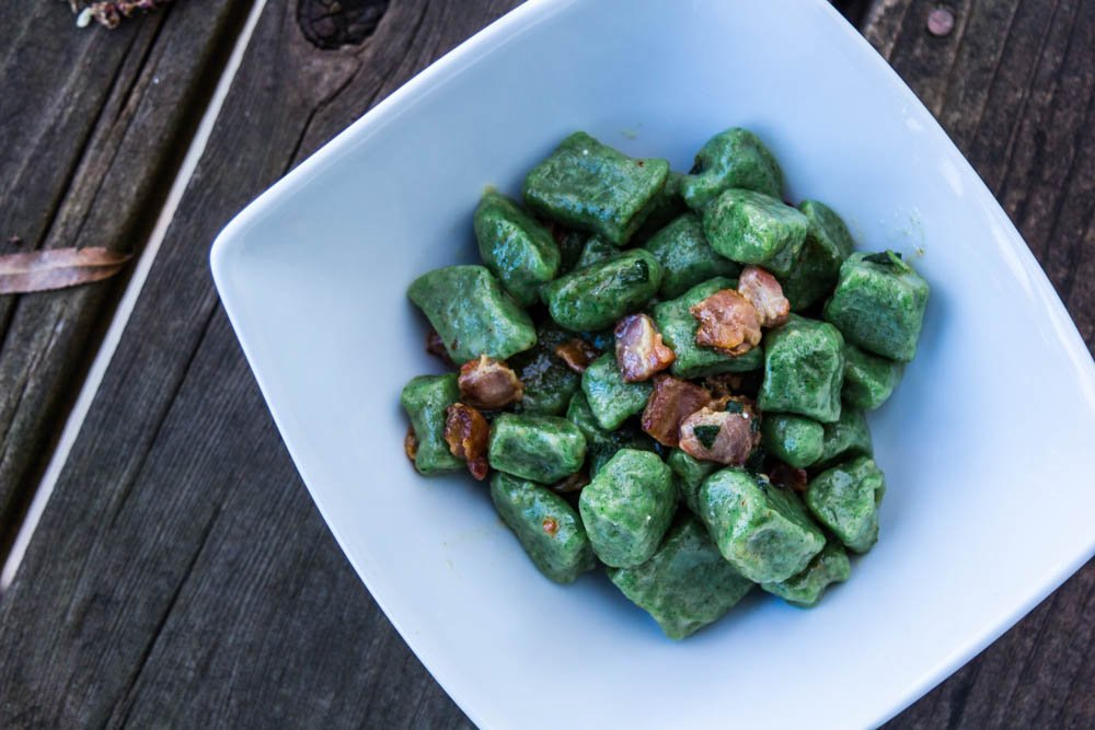 Nettle Gnocchi Recipe by Taste of the Wild Contributor Jamie Carlson of Modern Carnivore
