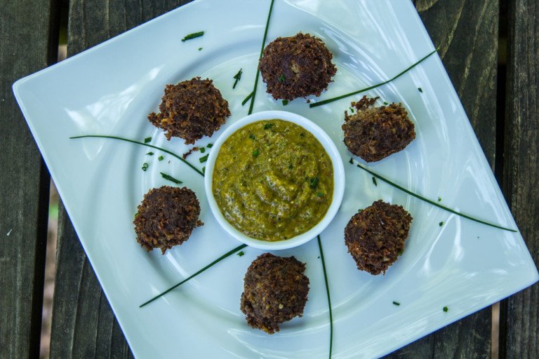 Duck Boudin Balls with Remoulade Sauce_ Jamie Carlson Modern Carnivore Taste of the Wild