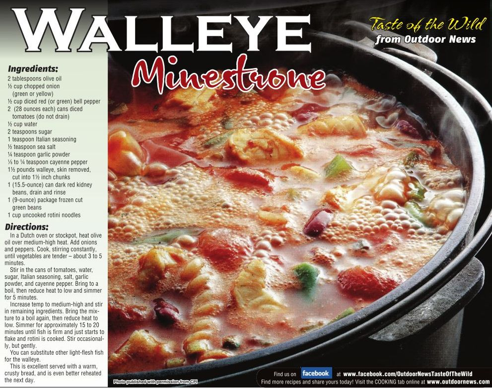 Walleye Minestrone