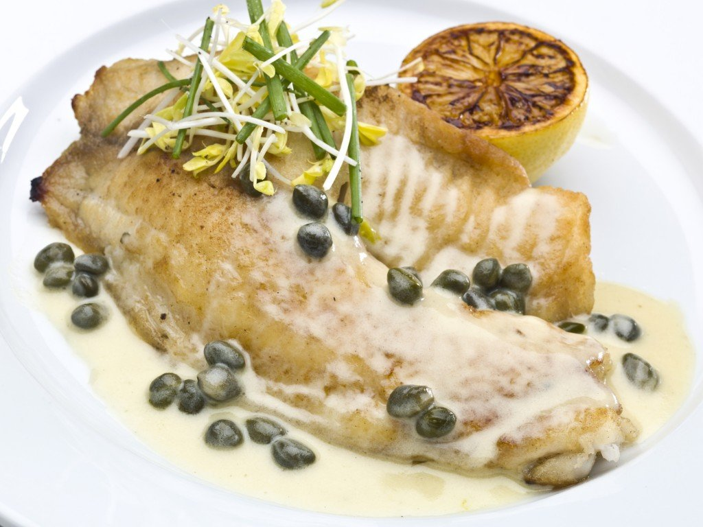 Saute Fillet Of Tilapia With Capers Sauce