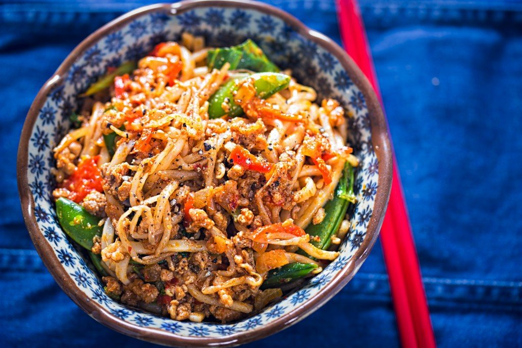 Szechaun Turkey with Noodles_Copyright Protected Image_iStock