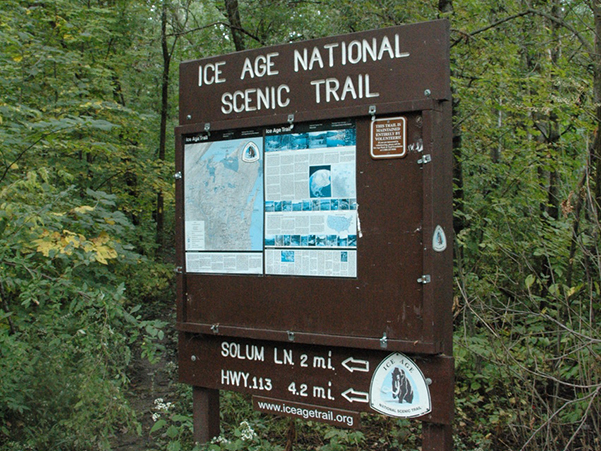 Ice Age Trail Sign (2)