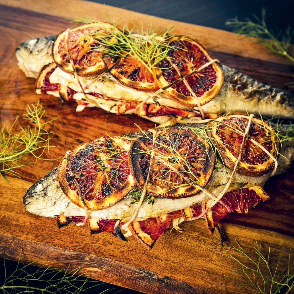 Backyardfirecookbook P71 Whole Grilled Trout