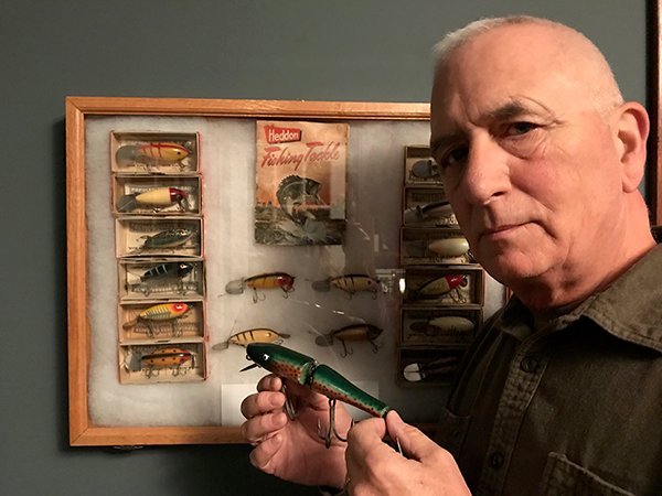 Mark Schmitkons Has A Passion For Collecting Antique Fishing Gear