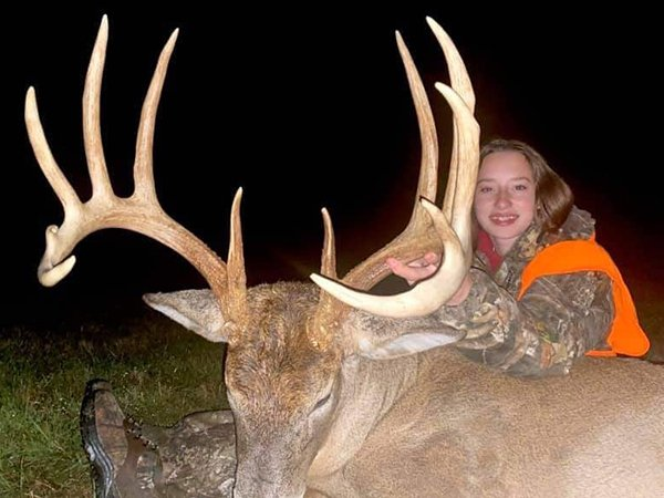 Gabby Hovak At Age 12 Took This Ohio Buck