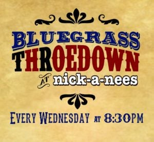 Bluegrass Throedown at Nick-a-Nee's @ Nick-A-Nees | Providence | Rhode Island | United States