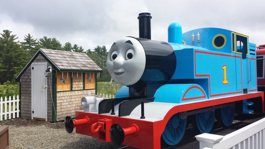 Take a trip to thomas land and meet thomas the tank engine and traveling with children is not easy especially if it involves packing up all your stuff boarding an airplane and flying across the country m4hsunfo