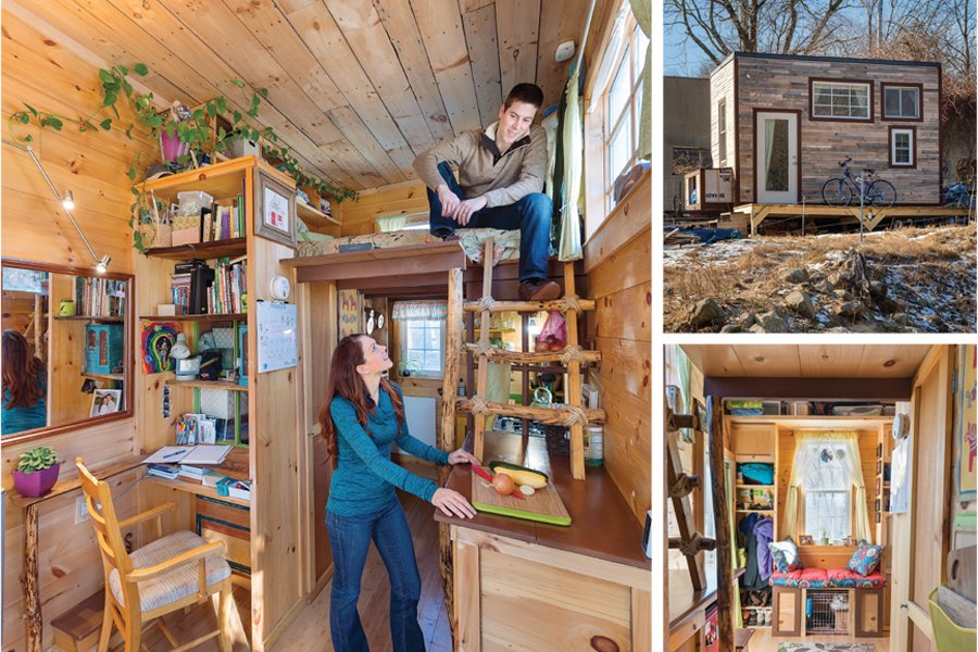 Living In A Tiny House Rhode Island Monthly