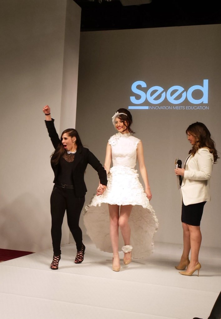 Styleweek Seed Gowns Constructed Out Of Unusual Materials Rhode Island Monthly