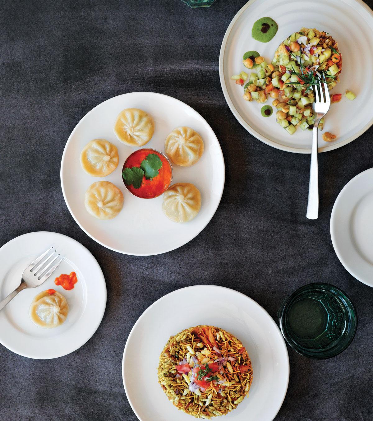Indian food at Dabbawala Lunchbox