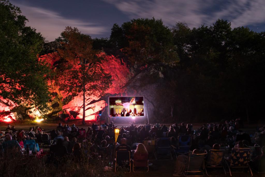 2017 summer outdoor movie series schedules rhode island