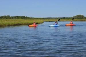 Ninigret Pond kayaking
