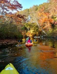 kayak the Pawtuxet River