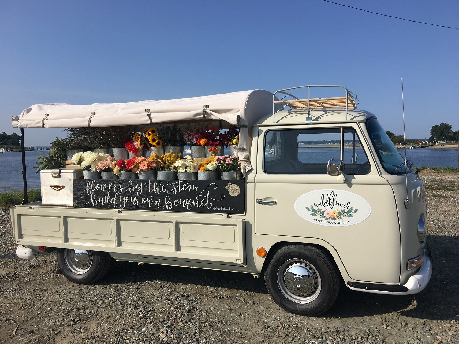 Build Your Own Bouquets from the Wildflower Truck - Rhode