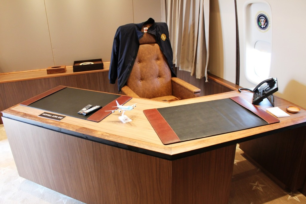 air force one office. Other Historically Significant Items, Including A Seat From President John F. Kennedy\u0027s Air Force One, Will Be Available For Viewing, Too. One Office U