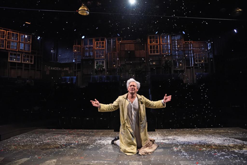 joe wilson jr as scrooge in a christmas carol at trinity repertory company photo by mark turek - Best Version Of A Christmas Carol