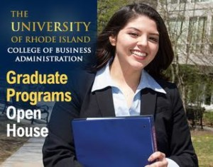 URI College of Business Graduate Programs Information Session @ URI College of Business, Ballentine Hall room 347 |  |  |