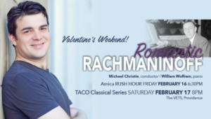 RI Philharmonic Orchestra presents Rachmaninoff's Second Piano Concerto @ The VETS | Providence | Rhode Island | United States