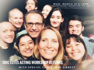 Eric Lutes Acting Workshop with Jane Sibbett @ Courthouse Center for the Arts | South Kingstown | Rhode Island | United States