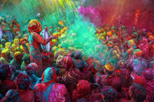 India Celebrates Holi Festival @ India Restaurant | Providence | Rhode Island | United States