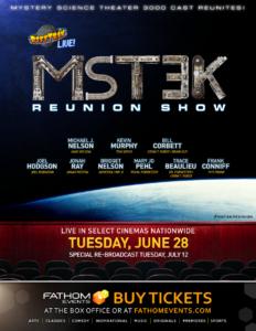 Showcase Cinemas' 10 Days of Event Cinema Presents Rifftrax Live: MST3K Reunion @ Showcase Cinemas Warwick | East Greenwich | Rhode Island | United States