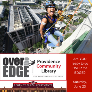 Are YOU Ready to Go Over the Edge for PCL? @ Regency Plaza | Providence | Rhode Island | United States